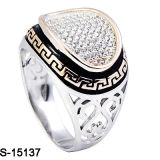 Fatory Cheap Price New Designs 925 Silver Men′s Ring.