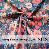 40140 Nylon Spandex Stripe Net Fabric in Hot Transfer Printing