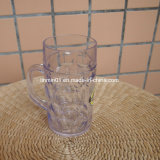 Custom Clear Plastic Drinking Beer Stein Mug for Promotion Gift