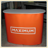 Curve Pop up Counter, Display Table with Easy Carry Bag