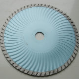 Diamond Turbo Wave Blade in Wet Cutting