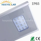 8W Waterproof Outdoor Pure White Garden LED Solar Street Light