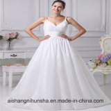 New Arrival Taffeta Strapless Sweetheart Beaded Wedding Dress