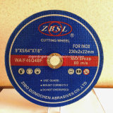 Machine Tool Cutting Wheel/Grinding Wheel for Stainless Steel-180X1.6X22.2