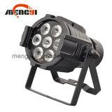 DMX512 7PCS Colorful Mini Aluminum Stage LED PAR Can Light