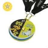Custom 3D Design Running Marathon Sports Opening 2PCS Metal Medal for Promotional Gift