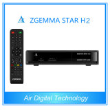 2015 DVB T2 HD Zgemma Star H2 DVB-S2 with Hybrid DVB-T2/C IPTV Satellite Receiver