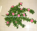 Plastic Ornamental Artificial Flower for Fence (MW16024)