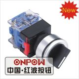 Onpow 30mm Selector Switch (LAS0-K30-11X/21/N, CCC, CE, VDE)