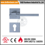 Stainless Steel 304 Lever Door Hardware on Rose for Europe