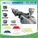 Plastic PVC/UPVC+PMMA/ASA+PC/PP Corrugated/Glazed Tile /Bamboo Roof/Foaming Wave Roofing Tile Sheet/Board Extrusion Making Machine Price