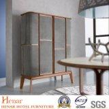 2019 Luxury Modern Handmade Bar Cabinet with Walnut Wood Finish