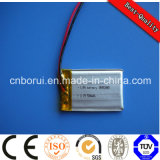 300mAh 3.7V Lithium Li Ion Polymer Battery for Bluetooth Headsets