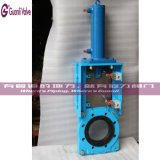 Slurry Knife Gate Valve with Bevel Gear Pneumatic Electric