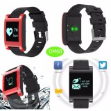 IP67 Waterproof Bluetooth Smart Bracelet with APP System Dm68