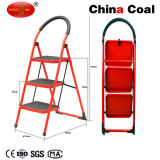 Yms203 Portable Light Wight Folding 3 Steps Steel Ladder