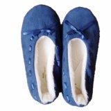 Foldable Roll up Soft Indoor Ballet Flats Dance Shoes (JMC-387L)