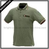 Fashion Cotton Polo Shirt for Men Women Apparel (BYH-10344)