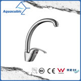 Chromed Stainless Steel Long Spout Kitchen Faucet (AF1965-5B)