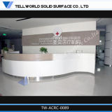 Most Popular Customized Artificial Stone Reception Table