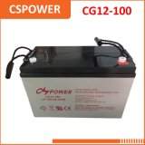 Hot Sale Gel Battery 12V100ah for Solar Power Cg12-100