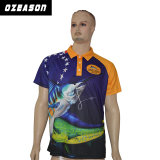 China Wholesale 100% Polyester Sublimated Cheap Bulk Polo Shirts (P008)
