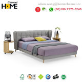 2018 Modern Fashion and Luxury Fabric Bed for Home Furniture (HC-E858A)