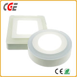 LED Panel Lighting 6+3W/12+4W/18+6W Square/Round LED Panel Lights