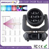 7*15W Mini Moving Head Wash Zoom LED Stage Light