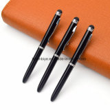 Classic Pure-Color Metal Ball Pen Touch Pen Custom Logo for Promotion (LT-L434)