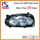 Auto Car Vehicle Parts Crytal Rim Head Lamp for Golf III (LS-VL-055-2)