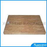 Iron Handle Rubber Wood Cutting Board Chopping Blocks