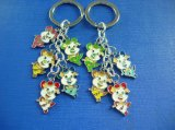 Happy Pig Keychain Ring Badge for Holders (GZHY-YSK-0005)