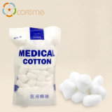 High Quality 100% Pure Cotton Sterilize Alcohol Cotton Ball White Medical Absorbent Cotton Ball