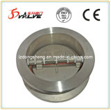 DIN3202 F1 Stainless Steel Wafer Butterfly Check Valve