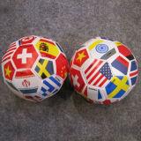 32panel Soccer Ball Shape Soft Ball with Flat Printing