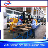 Pressure Vessels CNC Plasma Cutting Drilling Machine for Round Pipe/Square Tube