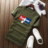 OEM Newest Degrade Design Print Crew Neck Custom T Shirt Men