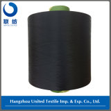 Polyester Dope Dyed Filament DTY Yarn (150D/48F NIM) Black for Weaving