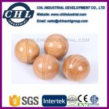 Logo Printed Wooden Bocce Ball Game Set with Nylon Bag