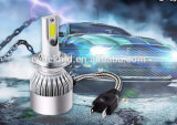 High Quality H4 H7 Motorcycle LED Headlight Bulbs 30W 3000lm with COB Chips