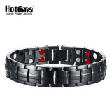 Newest Fashion Wholesale Black Gun Magnetic Steel Bracelet