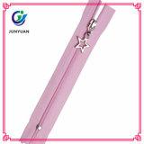 Nylon Close End Zipper Accessory for Garment
