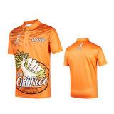 Sublimated Wholesale Custom Digital Full Color Print Man Men Golf Polo Shirt