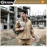 Tan Military Men Outdoor Waterproof Tactical Hunting Jacket