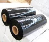 23 Micron Black LLDPE Stretch Film Manufacturer China