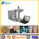 20W Rotary Fiber Laser Marking Ring/ Cup/Wood Crafts 2D Table