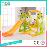 Ce Certificate Children Slide and Swing Set for Sale (HBS17020D)