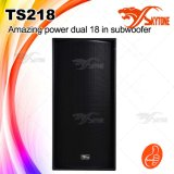 Double 18 Inch Subwoofer Professional Audio Loudspeaker