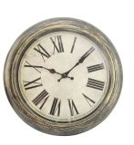 Antique Home Decoration Wall Analog Clock